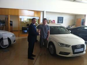 Entrega 2º premio Audi A3